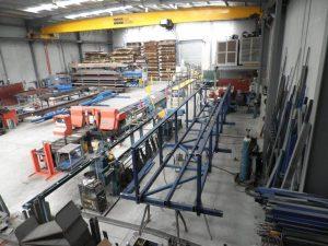 steel fab jib section