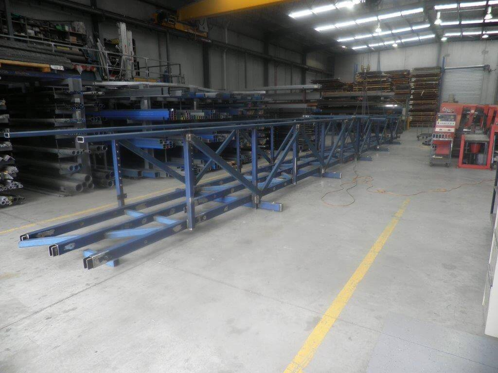 Lorne Bridge Frame, steel fabrication