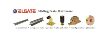elgate sliding gate hardware