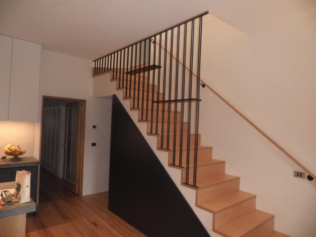 indoor balustrade in Box Hill, box hill balustrade, box hill metal fabrication, box hill steel for sale