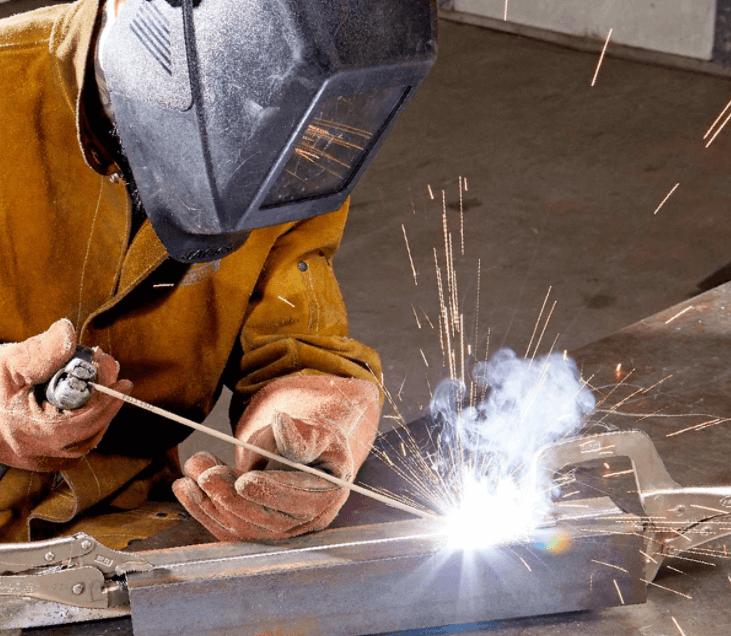 stick welding, welding safety gear
