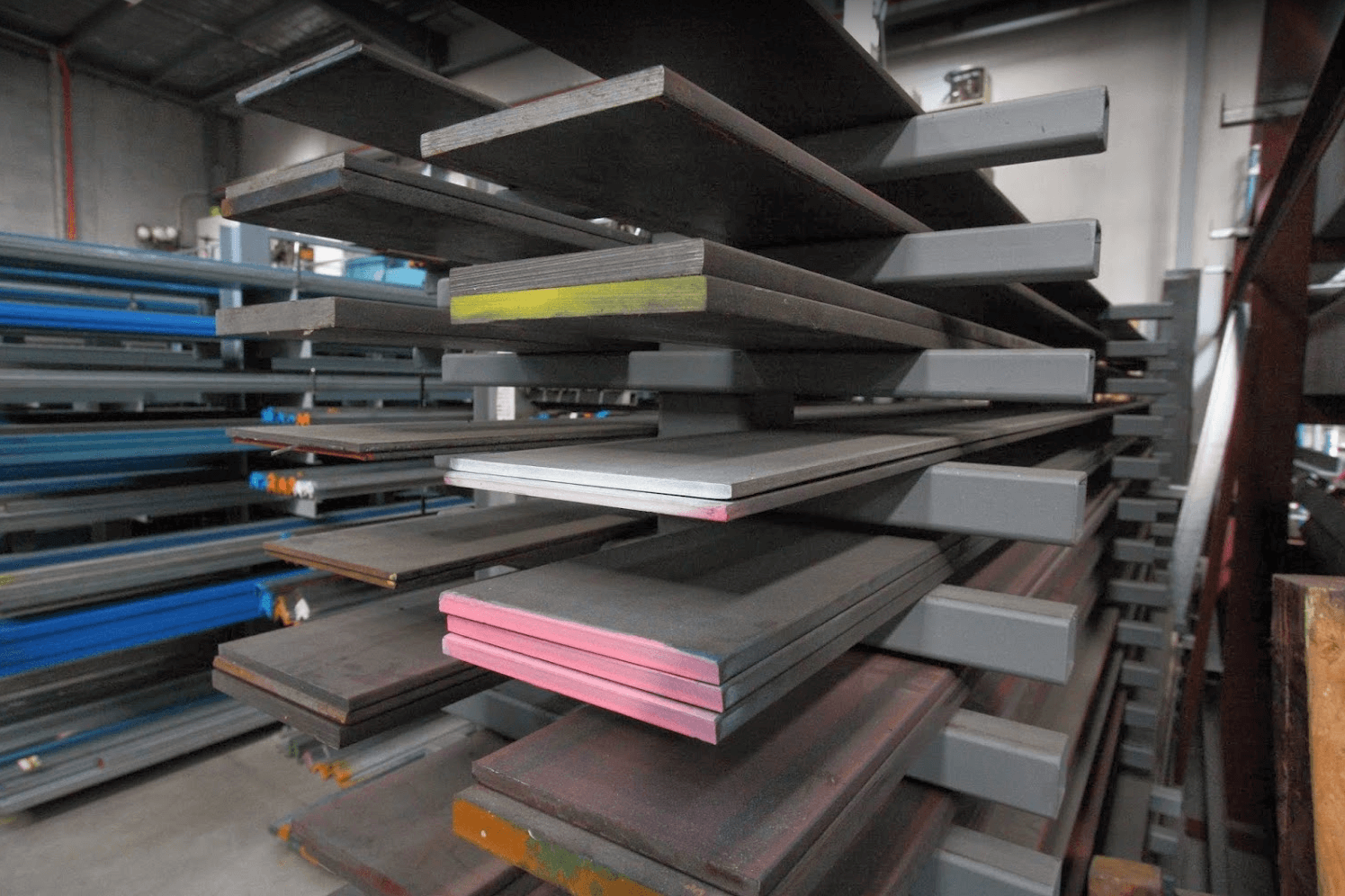 thick steel plate, long steel plate at metfab, sheet metal fabrication
