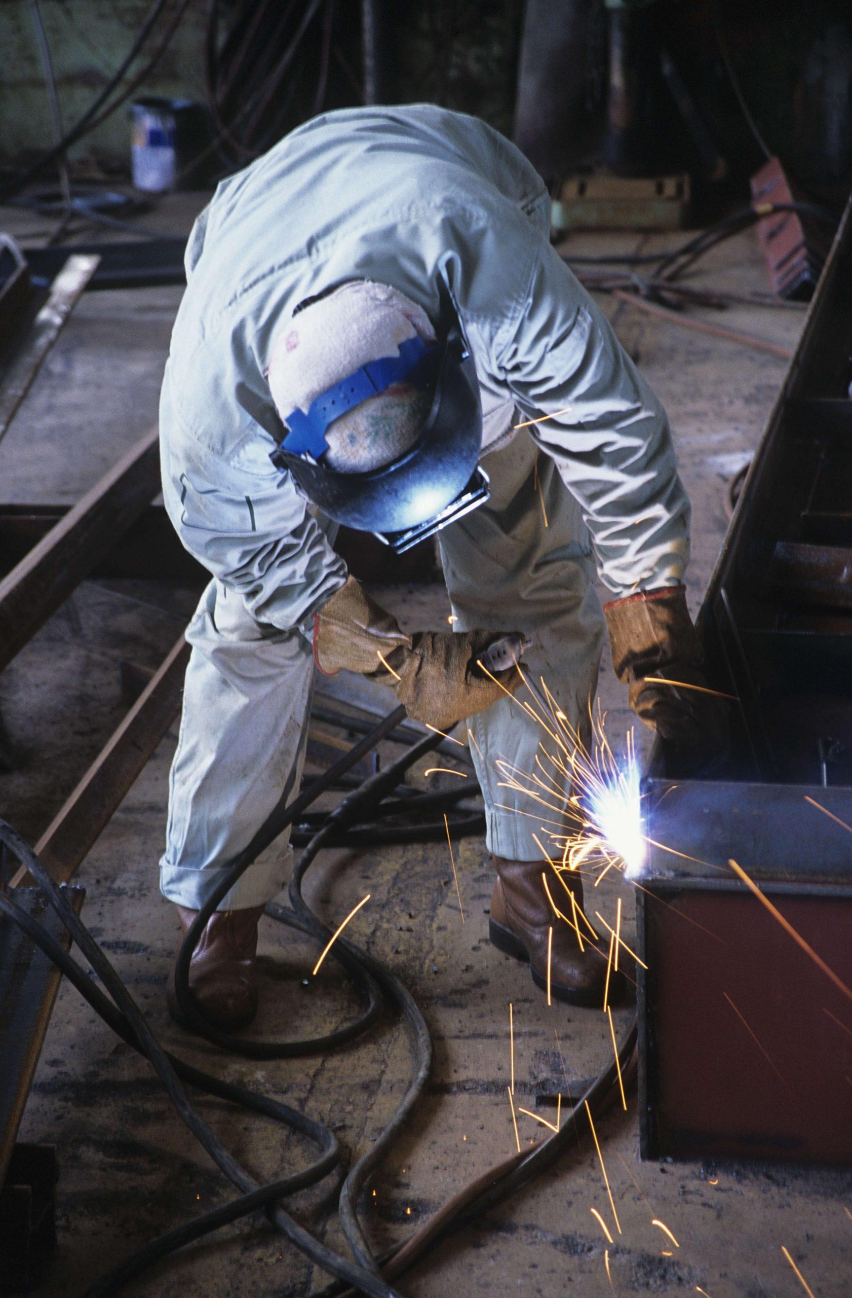 welding, fabrication works