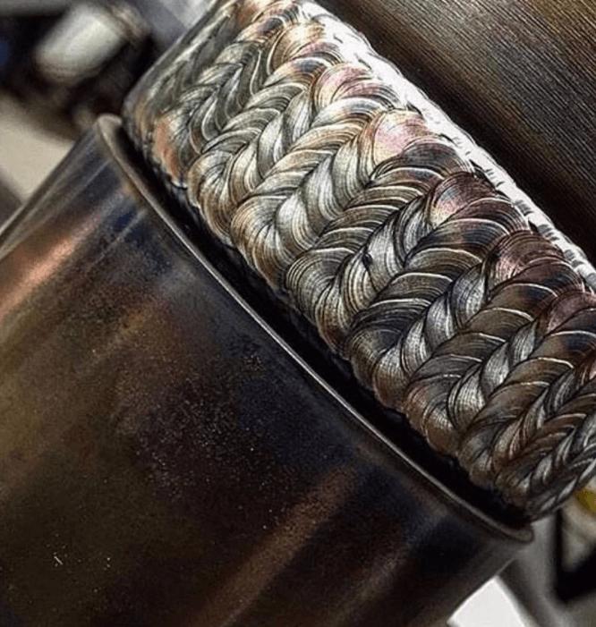 nice welds, metal work, TIG welder